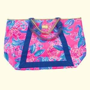 Lilly Pulitzer Sofina Tote Prosecco Pink